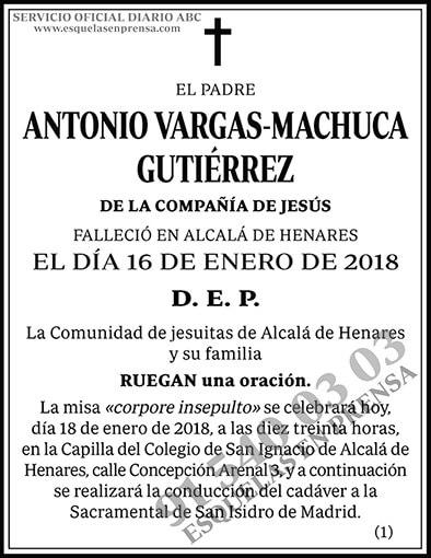 Antonio Vargas-Machuca Gutiérrez